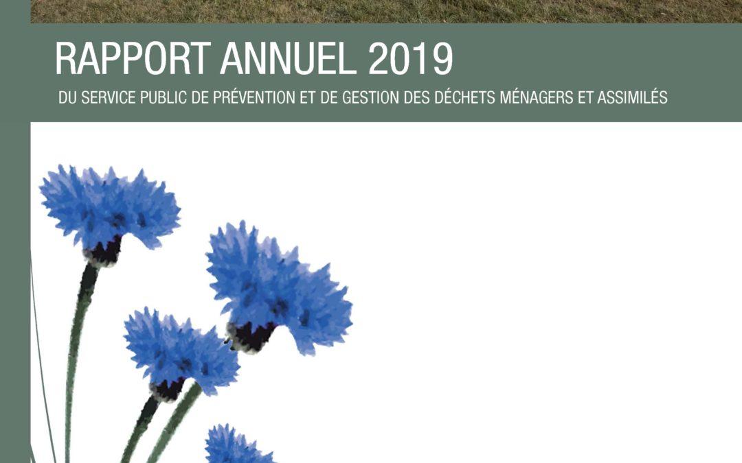 Le rapport annuel 2019 est en ligne