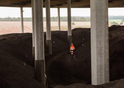 Stockage du compost